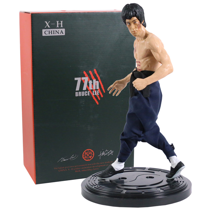 CHINA. X- H Bruce Lee Enter the Dragon Double-headed Statue 1/6 Limited Figure