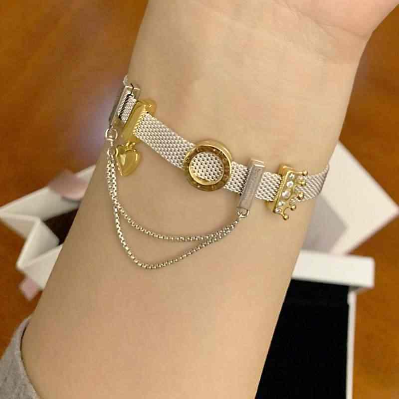 Silber 925 Schmuck Charms Armbänder für Frauen Geburtstag Valentines Tag Neue Jahr Weihnachten DIY Schmuck Geschenke