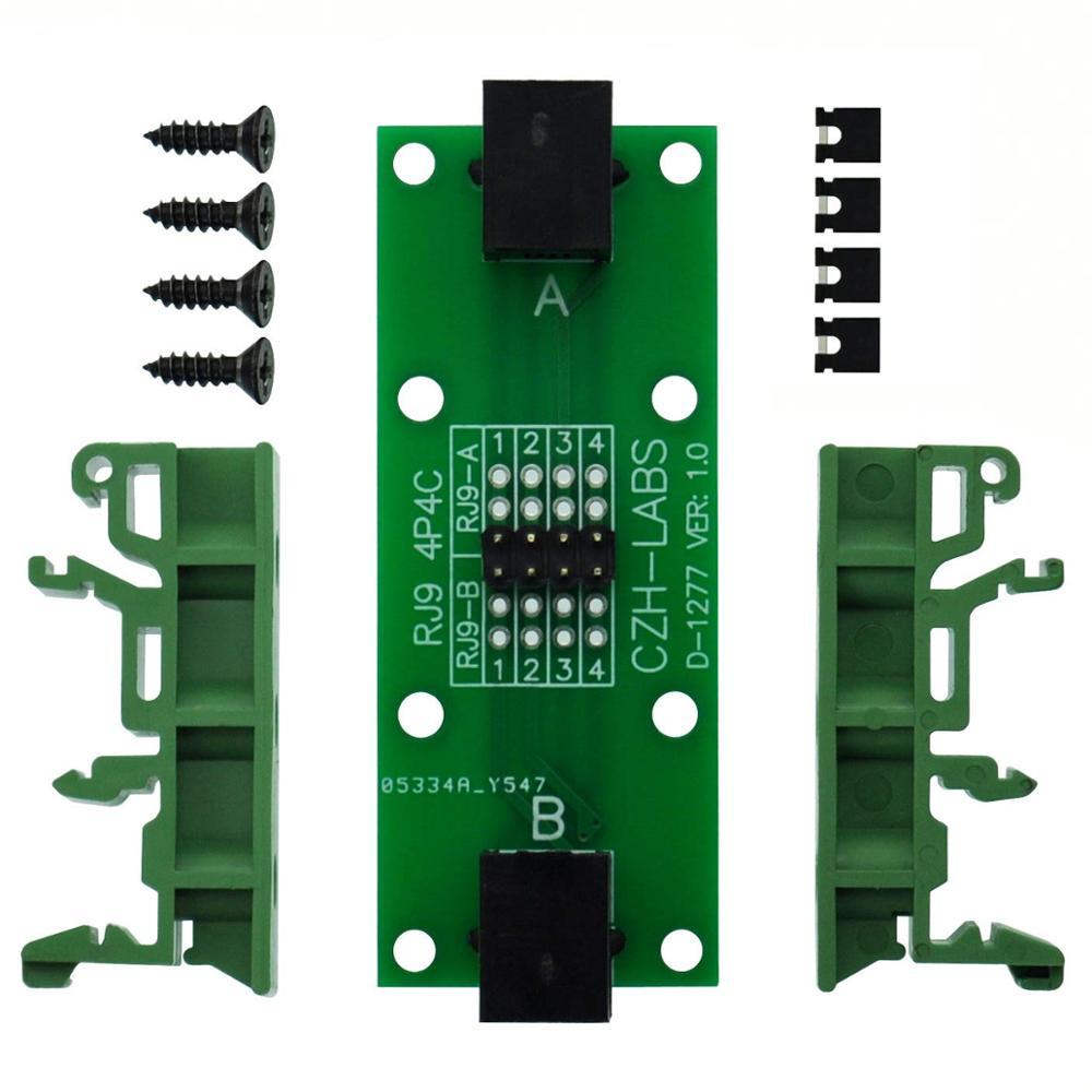 CZH-LABS RJ9 4P4C Diagnostic Test Breakout Module Board.