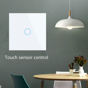 Image 3 - Livolo luxury Wall Touch Sensor Switch,EU Standard Light Switch,Crystal Glass switch power,1Gang 1Way Switch,220 250,C701 1/2/5