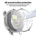 Novo tpu all-inclusive caso de proteção gota para samsung galaxy assista ativo 2 44mm 40mm precisão buraco relógio acessórios