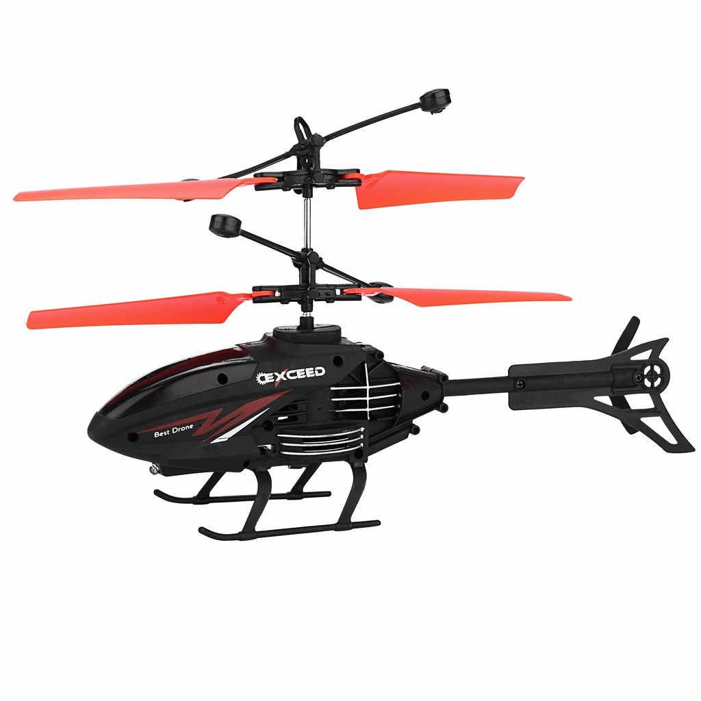 مصغرة RC الأشعة تحت الحمراء التعريفي هليكوبتر الطائرات ضوء وماض اللعب هدية الكريسماس اكسسوارات الاطفال juguداعي brinquedos