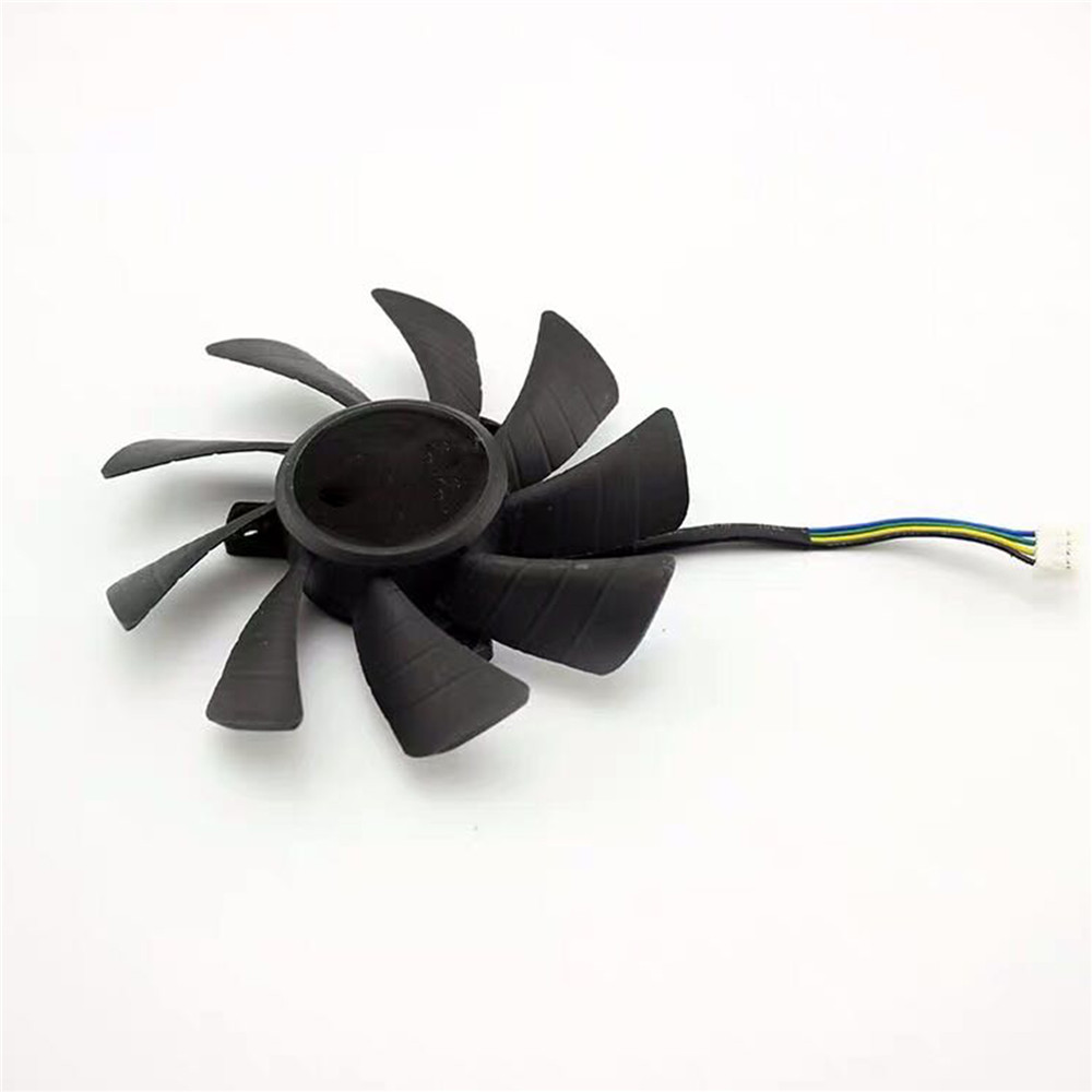 4Pin Graphics Card Cooling Fan T129215SH for GeForce <font><b>GTX</b></font> <font><b>1060</b></font> <font><b>Mini</b></font> 3GB ITX 85mm Cooler Fan Repair Kit image