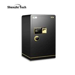 Сейф для отпечатков пальцев, электронный пароль, сейф, 60 см, все стали для дома и офиса