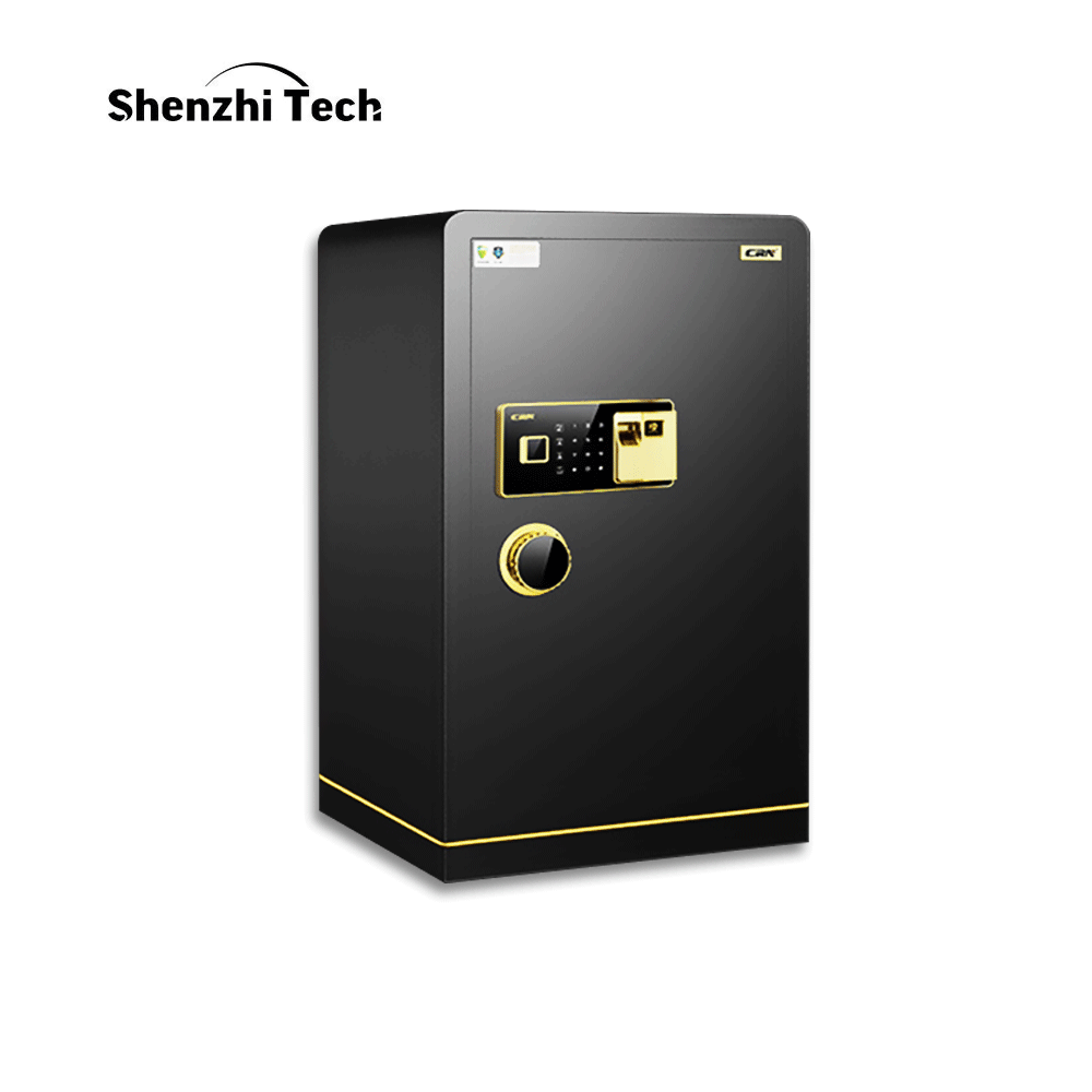 Fingerprint Safe Box Electronic Password Safe Deposit Box 60 CM All Steel For Home Office