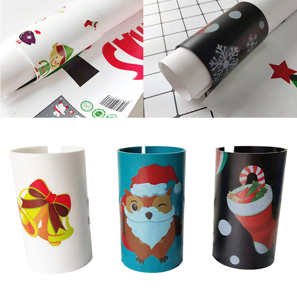 Wrapping Paper Cutter Christmas Gift Cutting Tools Paper Die-Cut Tube Wrapping Cut Machines Christmas Print For Party Decor