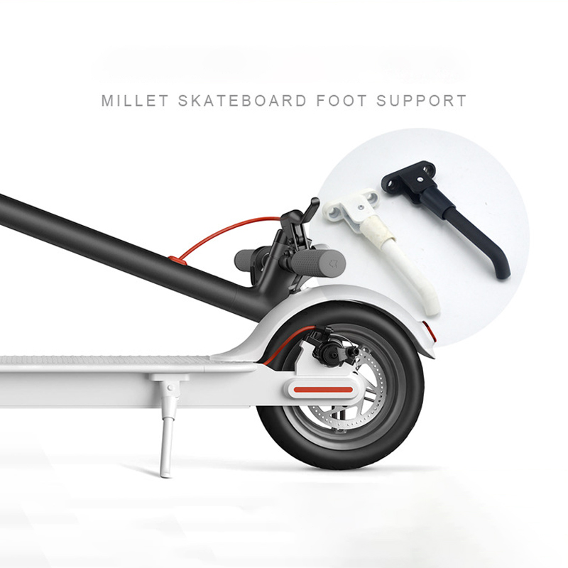 Folding Side Foot Support for <font><b>Xiaomi</b></font> <font><b>M365</b></font> <font><b>Scooter</b></font> Parking Tripod for <font><b>Xiaomi</b></font> <font><b>Mijia</b></font> <font><b>M365</b></font> <font><b>Pro</b></font> <font><b>Electric</b></font> <font><b>Scooter</b></font> Stand Bracket Parts image