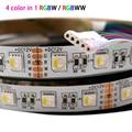 5 м/лот DC 12 В 24 В RGBW/RGBWW 4 цвета в 1 светодиодный чип 60 светодиодный s/m 300 светодиодный s водонепроницаемый IP30/65/IP67 5050 SMD гибкий светодиодный свети...