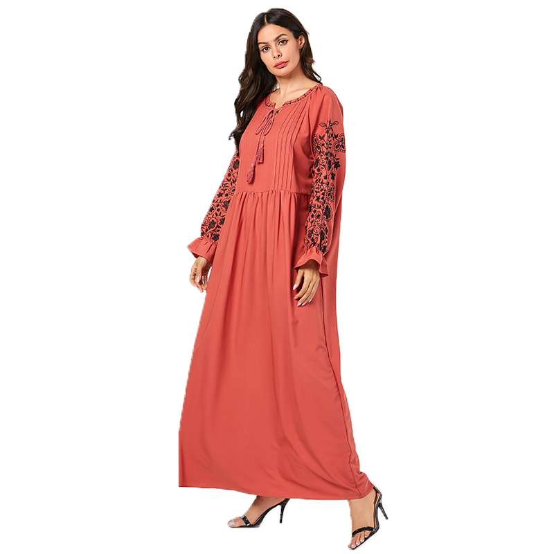 Siskakia Autumn Long Dress 2019 New Urban Casual Maxi ...