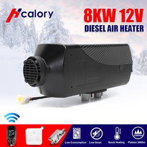 Lcd-Switch Boats-Trailer Car-Heater Trucks Silencer Hcalory Remote 12v 2kw Diesel