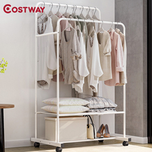 Hanger Coat-Rack Clothing Wardrobe Drying-Racks COSTWAY Storage Manteau Kledingrek Porte