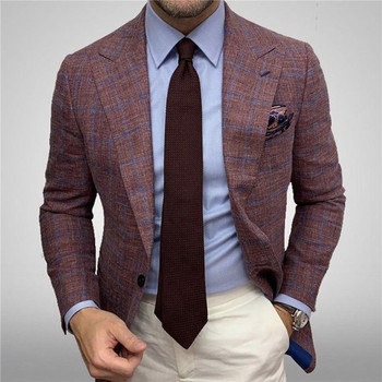 Men's Formal-Dress Stripe Blazer