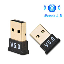 USB Bluetooth 5.0 Adapter Transmitter Receiver Audio Bluetooth Dongle Wireless USB Adapter for Computer PC Laptop Mouse