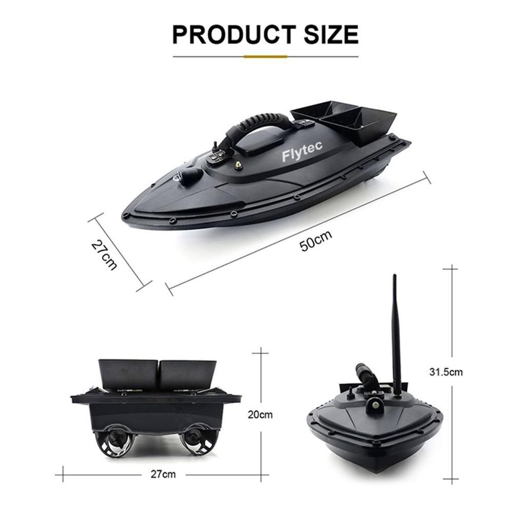 2019 NIEUWE Flytec 2011 5 Vissen Tool Smart RC Aas Boot Speelgoed Dual Motor Fishfinder Vis Boot Afstandsbediening control Vissersboot - 6