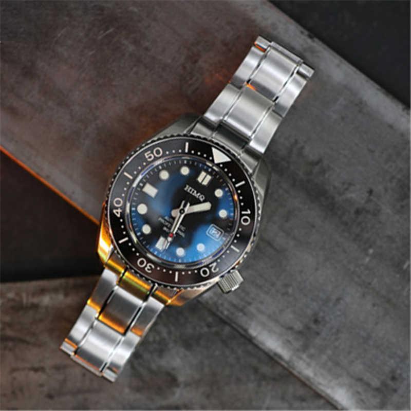 Proxima NH35 腕時計自動トップブランドの高級メンズ機械式 300 メートル防水スポーツダイバー時計サファイアステンレス鋼