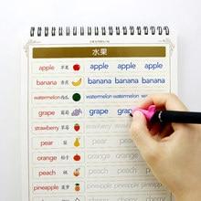 Английский алфавит, копировальная книга для каллиграфии, книги для детей, детская книга, почерк, обучение в письменной форме, учебная книга ...