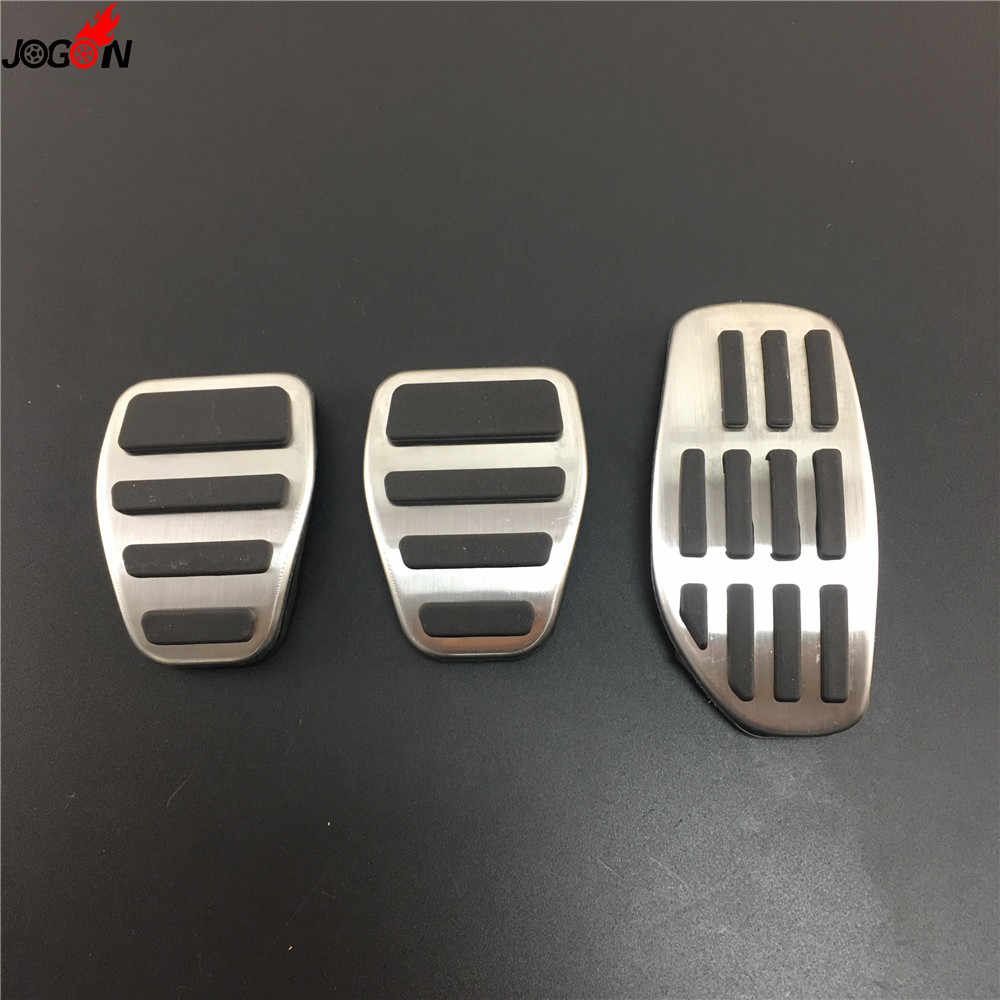 RED BOYUER Anti-Slip No Drilling Aluminum Brake and Gas Accelerator Pedal Covers For Nissan Kicks 2016-2019 Qashqai j11 2014-2018 Rogue /& X-Trail 2014 2015 Sentra 2019 Foot Pedal Pads Kit 2PCS