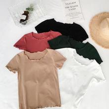 2019 T Shirt Women Clothes Fashion Tee Top multi Fashion Cotton Ladies