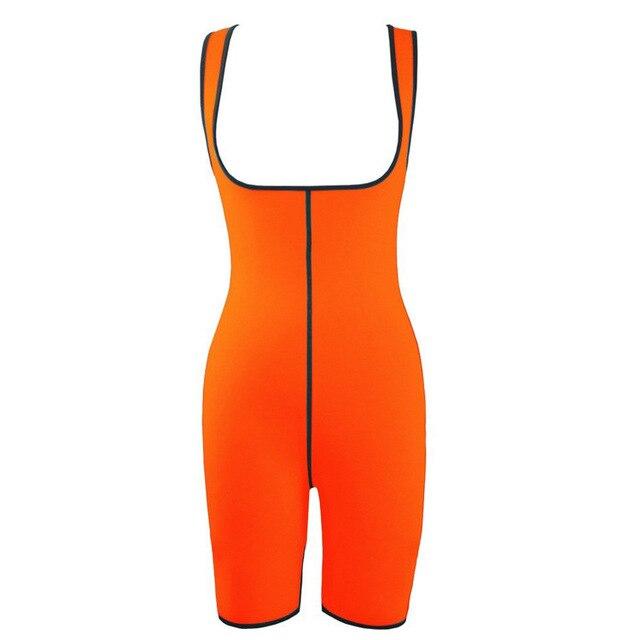 Ultra Neoprene Corset Bodysuit, Inner and Outer Wear Abdomen Belt Corset, Sports Sweat Wicking Bodysuit Gym Clothes 3