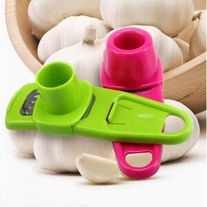 Kitchen Gadgets Garlic Masher Garlic Press Tool Convenient To Use Garlic Cutter And Ginger Grinder