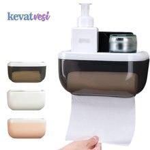 Водонепроницаемый держатель для туалетной бумаги настенный контейнер