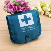 Portable One Week Medicine Storage Box Travel Case First Aid Bag Tablet Pill Organizer