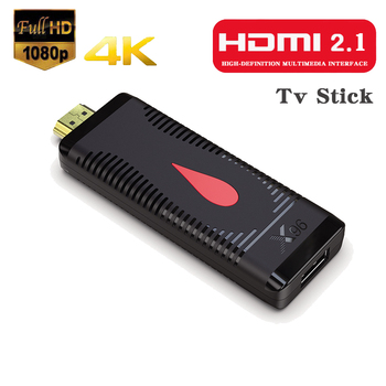 TV Stick 2.4G 4K HDMI HD Stick Android 10 TV Box Screen Sharing 1080P RAM 1G/2G LPDDR3 Same Screen Device for YouTube tablets TV image