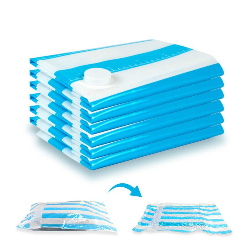 Вакуумные пакеты для хранения одежды, одеяла, подушки, очень прочная вакуумная упаковка, 60x40 см, 70x50 см, 80x60 см, 100x80 см