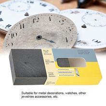 Полировальный Инструмент чистящее средство для очков удаление для ремонта царапин для металлических часов ювелирные изделия качественный инструмент для ремонта часов для часовщика Repairer c