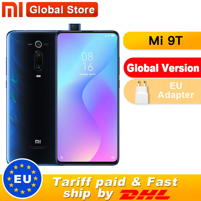 Global Version Xiaomi Mi 9T 6GB 128GB Smartphone Snapdragon 730 Pop-up Front Camera NFC 6.39