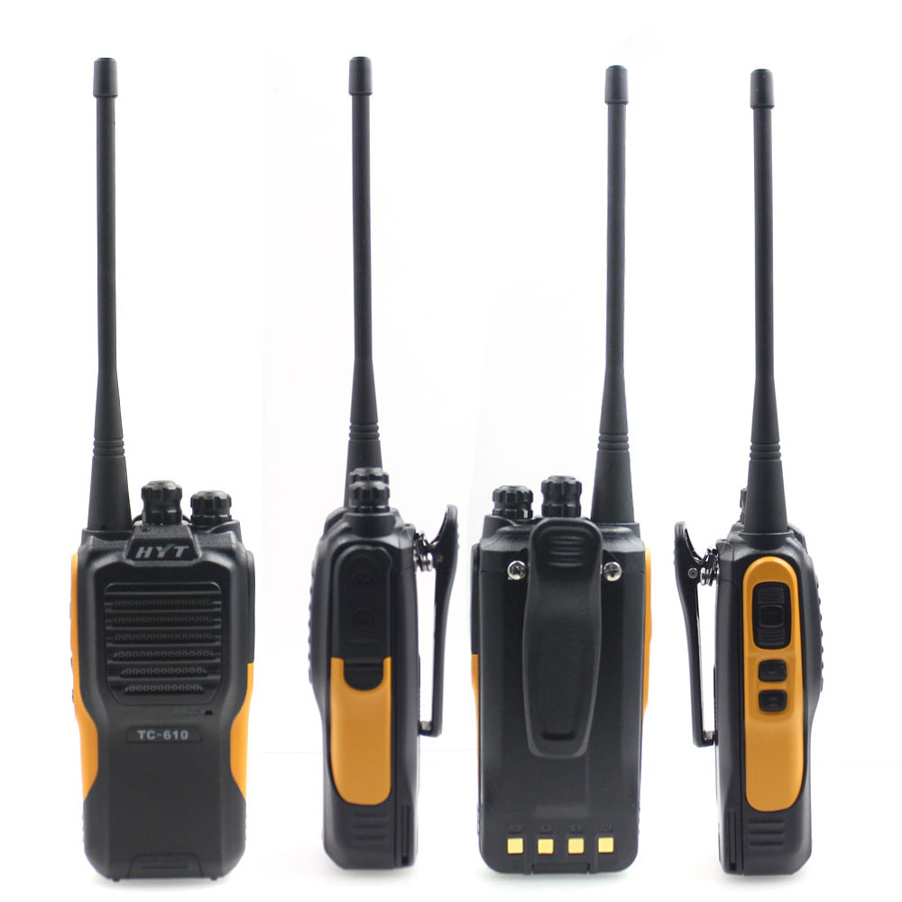 HYT TC-610 5W Portable Two Way Radio HYT TC-610 1200mAH Standard Battery Portable Two Way Radio