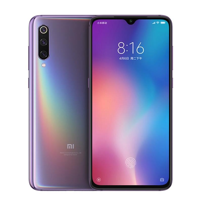 Global Version Xiaomi Mi 9 Mi9 Mobile Phone 6.39 inch 6GB RAM 128GB ROM Snapdragon 855 Octa Core 48MP+16MP Triple Cameras Xiomi