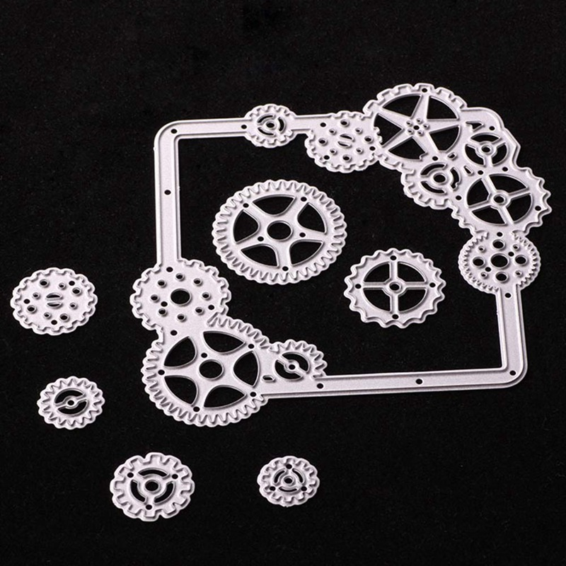 Creative High Quality Metal Cutting Dies Stencils Gear For DIY Scrapbooking Album Paper Card Decorative Craft Embossing Die New