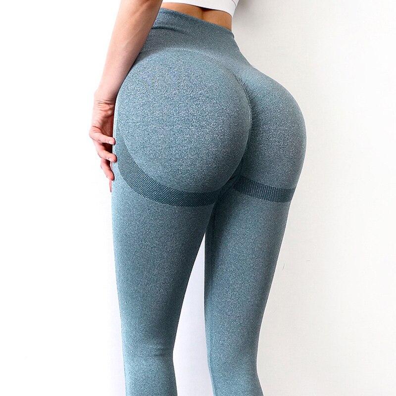 Seamless Leggings Push Up Bubble Butt Sport Women Fitness Gym High Waist Leggings Workout Anti Cellulite Compression Legging 1