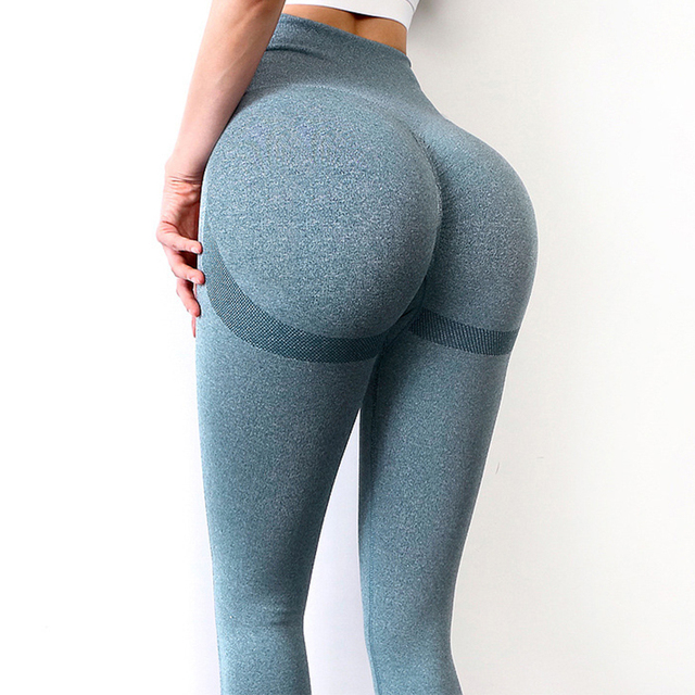 Seamless Leggings Push Up Bubble Butt Sport Women Fitness Gym High Waist Leggings Workout Anti Cellulite Compression Legging 1