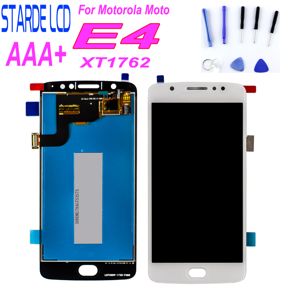 For Motorola for Moto E4 LCD Display Touch Screen XT1762 XT1772 Digitizer Assembly 5 Replacement Brazil Ver