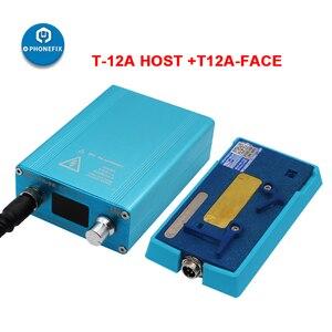Image 2 - SS T12Aสถานีบัดกรีเมนบอร์ดLayered Face ID FixสำหรับiPhone 6 7 8 X XS 11Pro Max CPU NANDความร้อนdisassemblyแพลตฟอร์ม