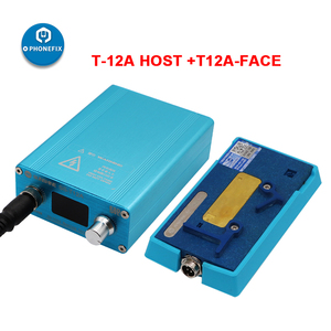 Image 2 - SS T12A Soldering Station Motherboard Layered Face ID Fix for iPhone 6 7 8 X XS 11Pro max CPU NAND Heating Disassembly Platform