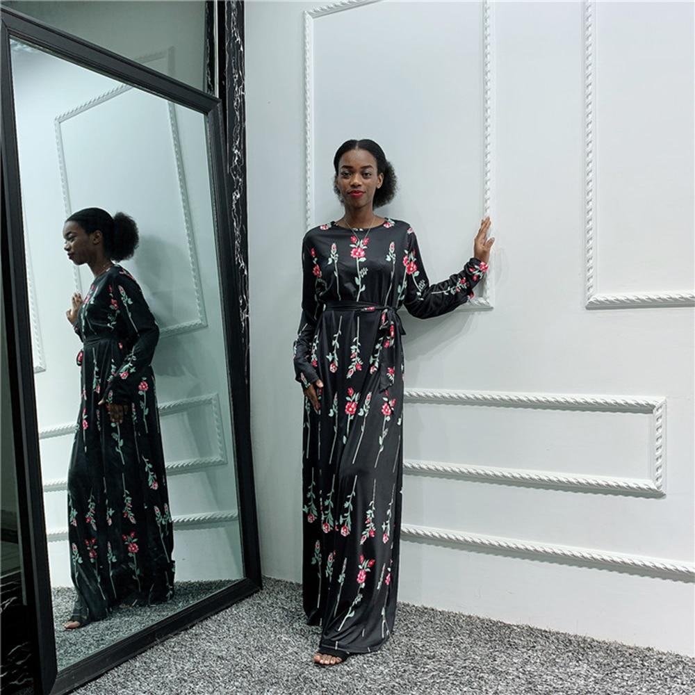 Dubai Abaya Kaftan Hijab Muslim Dress Women Turkish Dresses Islamic Tesettur Elbise Caftan Robe Musulman Gamis Muslim Wanita
