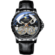 Luxury Brand ailang watch men trend watches automatic Mechanical Tourbillon Skeleton Men waterproof Clock reloj pulsera hombre