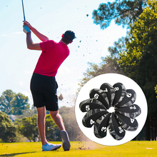 10pcs/Set Iron Headcover Set with Large No. for All Brands ,,, Etc.