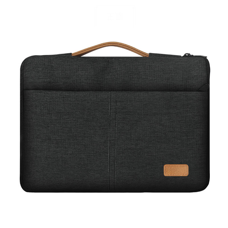 Laptop Bag 13.3 15.6 Inch Waterproof <font><b>Notebook</b></font> Sleeve Bag for Macbook Air Pro/Asus/Lenovo <font><b>Travel</b></font> Carrying <font><b>Case</b></font> Handbag Briefcase image