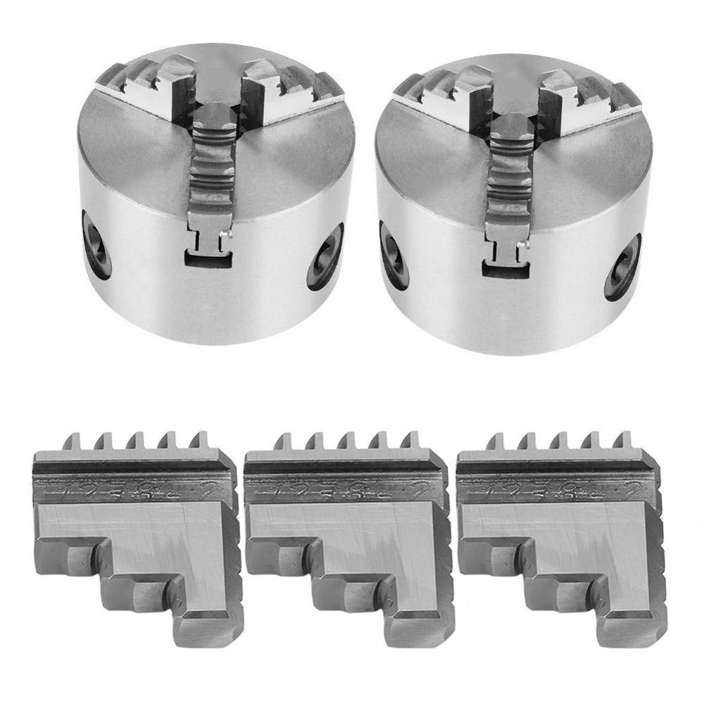 Self-Centering Metal Lathe Chuck Clamp Accessory Z011 Zinc Alloy 3 Jaw Chuck