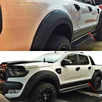 Gratis Verzending Links En Rechts Wiltrack Markering Side Body Deur Streep Taille Auto Styling Stickers Voor Ford Ranger