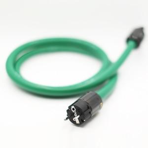 Image 5 - P108 送料無料audiocrast 2328 電源ラインハイファイ電源ケーブル電源コードeuプラグacケーブルラインhifi