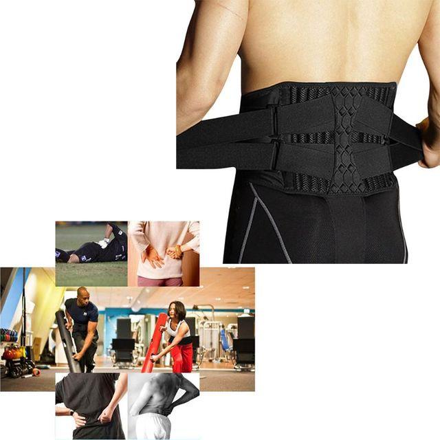 Waist Support Strong Lower Back Supporter Corset Waistband Sports Sweat Belt