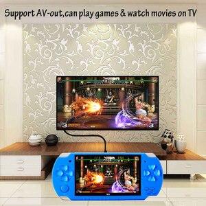 Image 5 - Elde kullanılır oyun konsolu 4.3 inç ekran mp4 çalar MP5 oyun oyuncu gerçek 8GB desteği 8Bit 16bit 32bit oyunları, kamera, video, e kitap