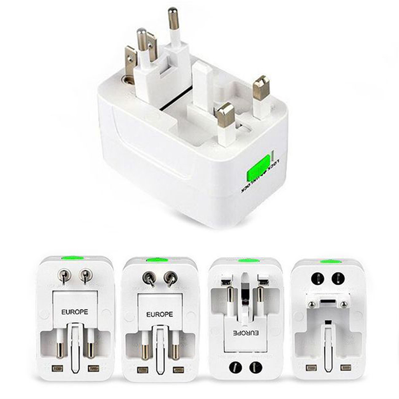 Multi-Function Global Conversion Plug Conversion Socket Travel Adapter All-in-one International World AC Power Converter Plug