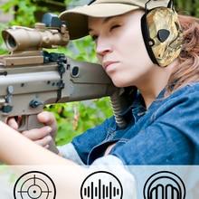 Electronic Earmuff Headphones Protective Hunting-Shooting Noise-Reduction Hearing ZOHAN