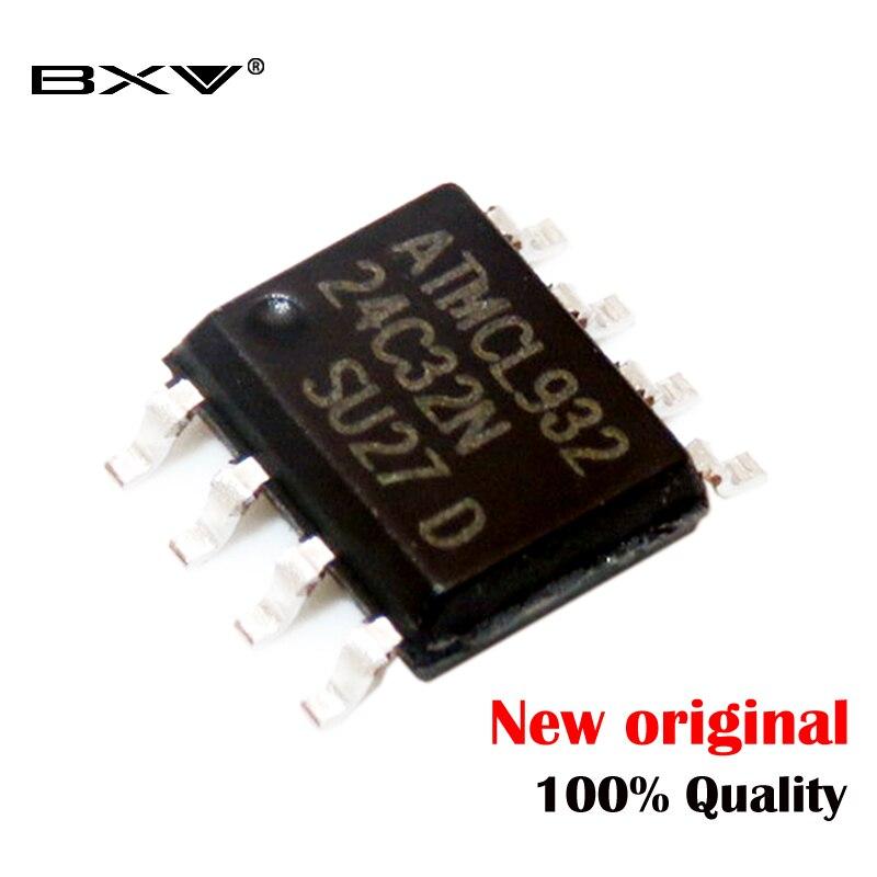10 шт. AT24C32 24C32 SOP8 24C32N SOP 24C32AN SOP-8 SMD новый и оригинальный чипсет IC, регулятор напряжения компьютера
